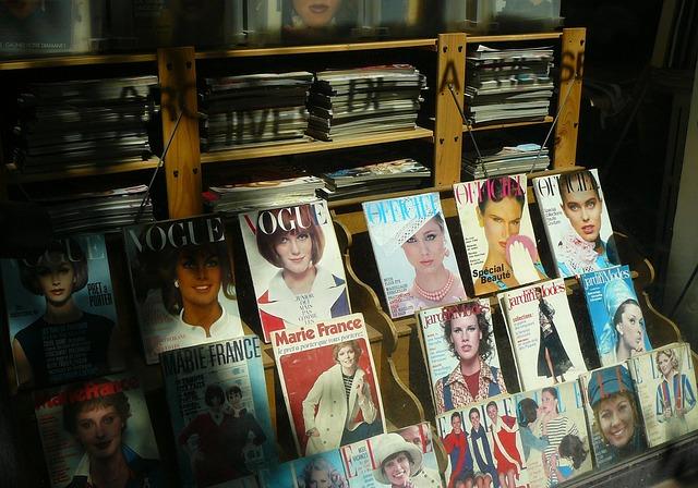 módní časopisy