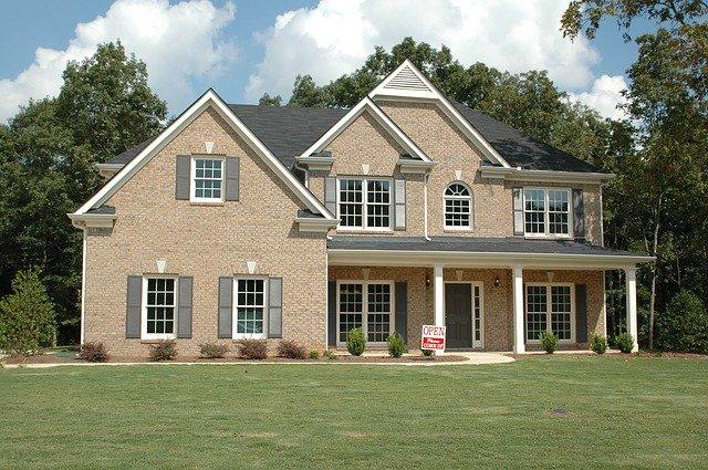 dům financovaný hypotékou