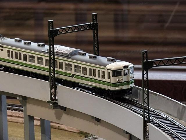 elektrický vlak – model